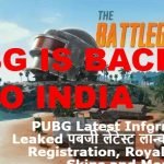 PUBG Latest Information Leaked: Launch, Registration, Royale Pass, Skins and More