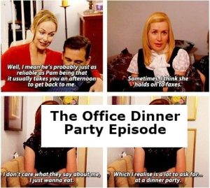 The Office Dinner Party Episode