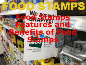 Food Stamps Features and Benefits of Food Stamps SNAP