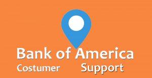 Bank of America Costumer Support